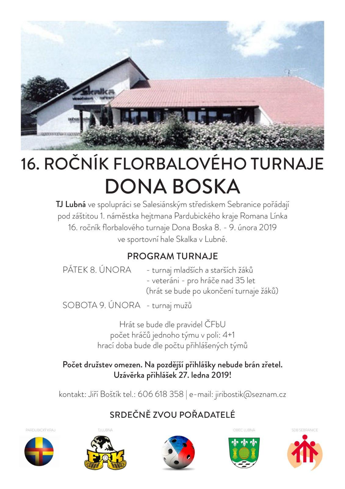 16. ročník florbalového turnaje Dona Boska