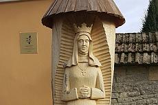 Reportáž - Posvěcení sochy sv. Anežky