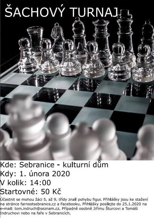 Pozvánka - Šachový turnaj