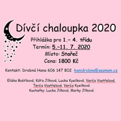Chaloupka 2020 - mladší holky 1-4. třída