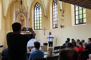 Putování za sv. Josefem do Hřebče